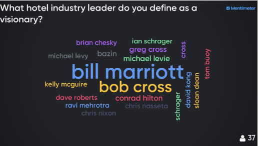 WHO DO CHIEF REVENUE OFFICERS THINK IS A VISIONARY?
