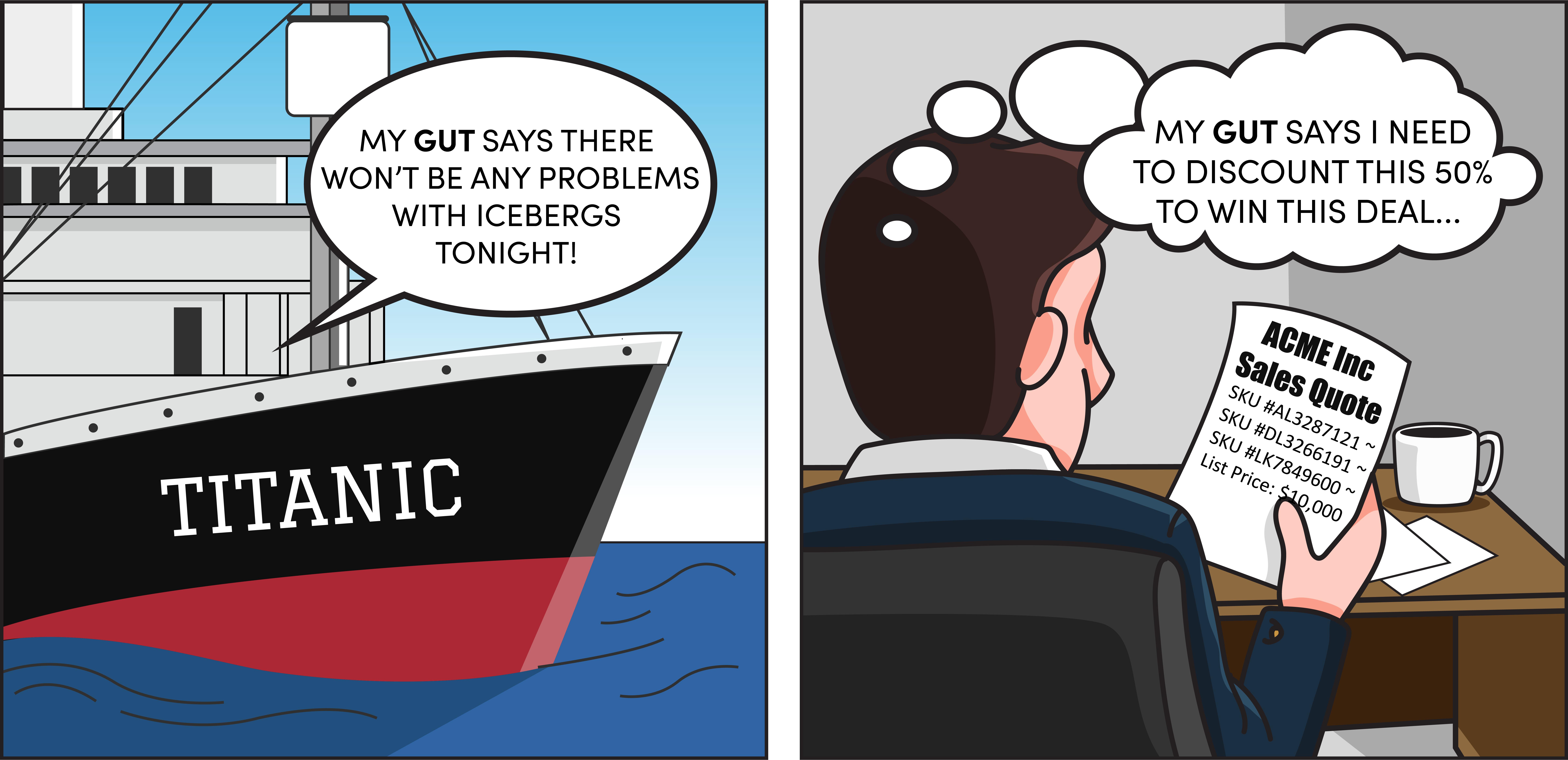 Stop Gut Pricing Titanic